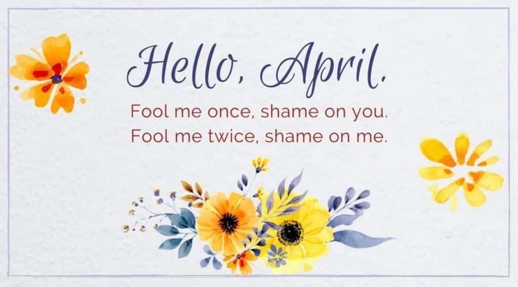 Hello April Quotes Pinterest