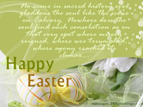 Messages for Easter Greeting