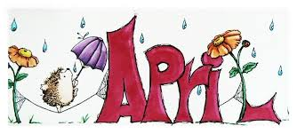 Month of April Clipart