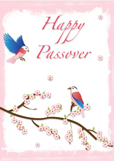 Passover Greeting cards Printable
