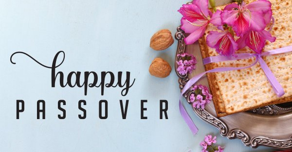 Passover Greeting for Facebook