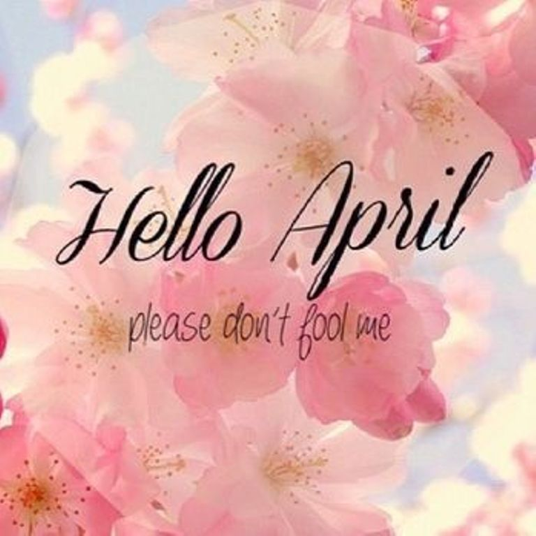 Quotes Hello April