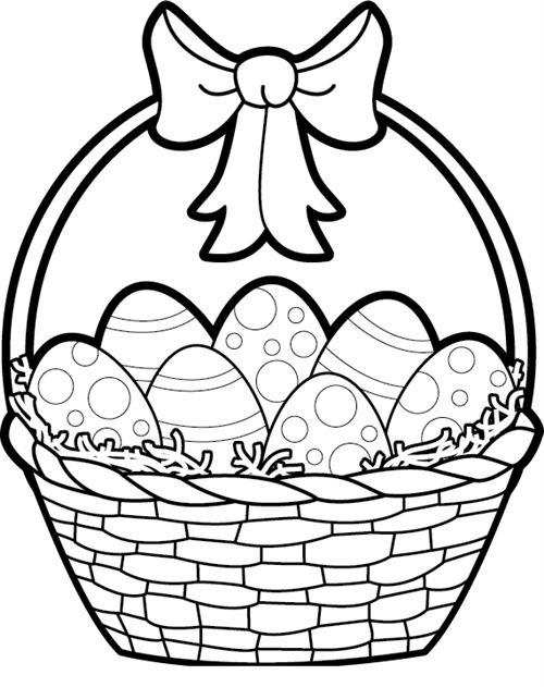 Easter Bunny Images Black and White