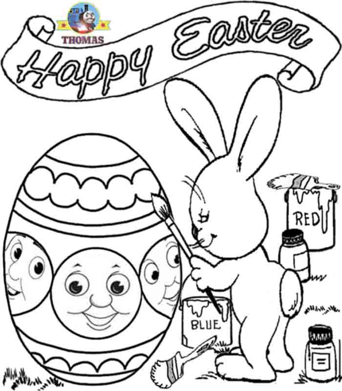 Free Easter Coloring Pages for Kindergarten