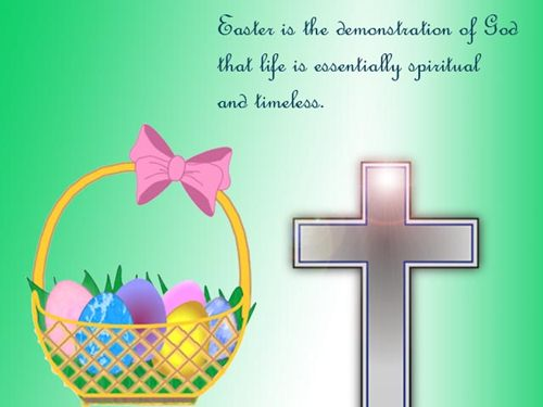 Short Easter Sayings
