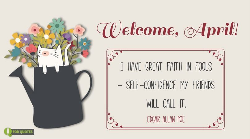 Welcome April Quotes and Sayings