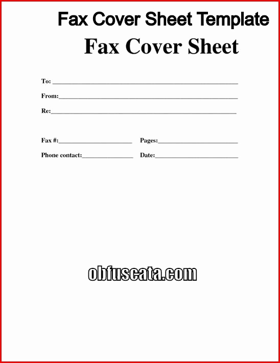 fax cover letter Elegant Best Fax Cover Sheet Templates