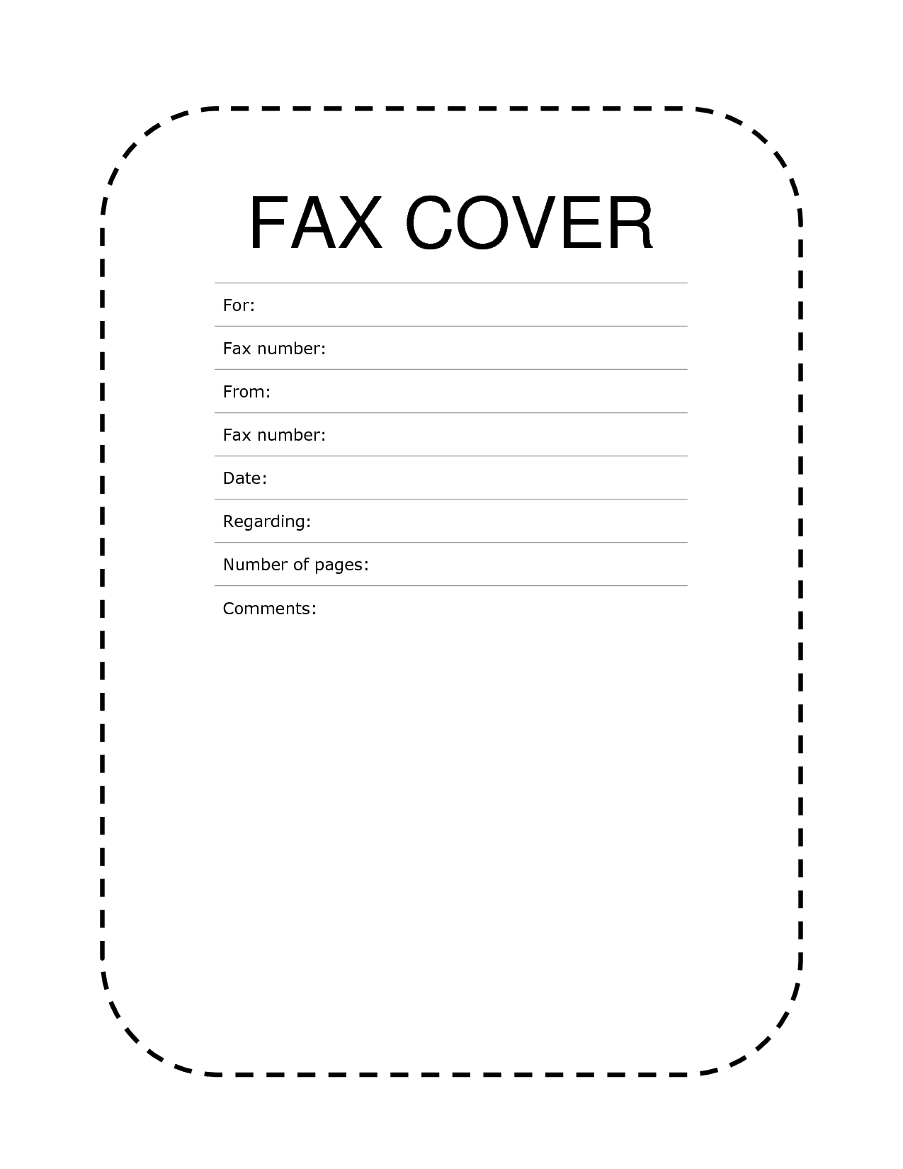 Blank fax cover sheet free printable template blank fax cover sheet free altavistaventures Gallery
