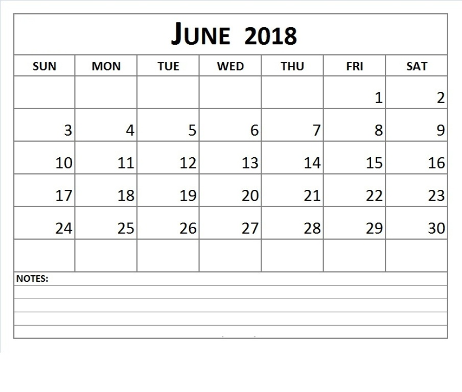 Calendar June 2018 Archives