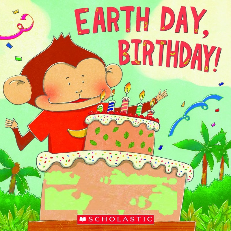 Earth Day Birthday Cartoon Images