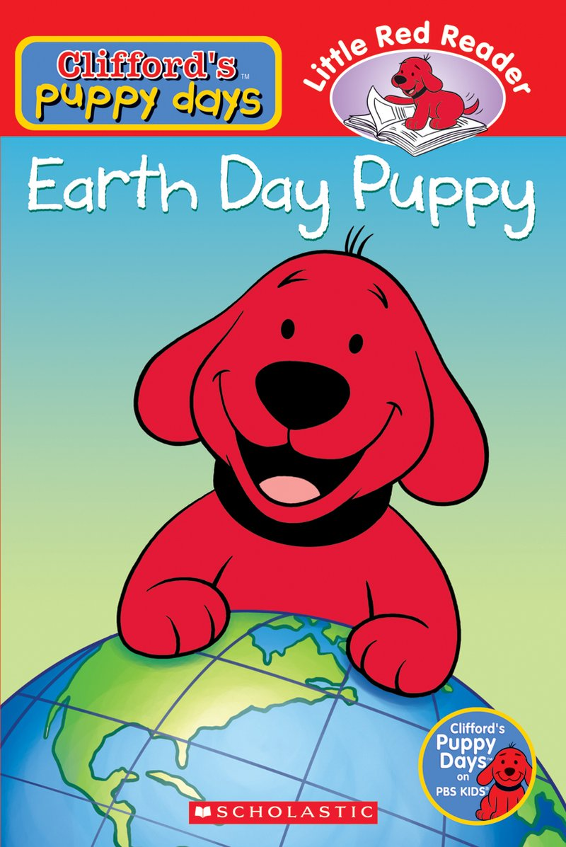 Earth Day Birthday Clipart With Puppy