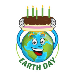 Earth Day Birthday For Facebook