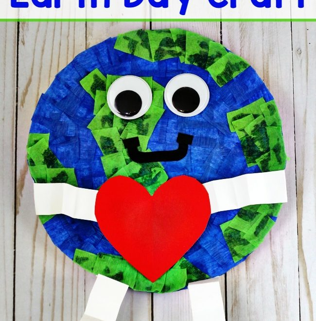 Earth Day Craft Paper Plate