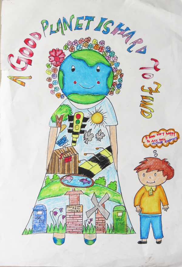 Earth Day Drawing Art Contest