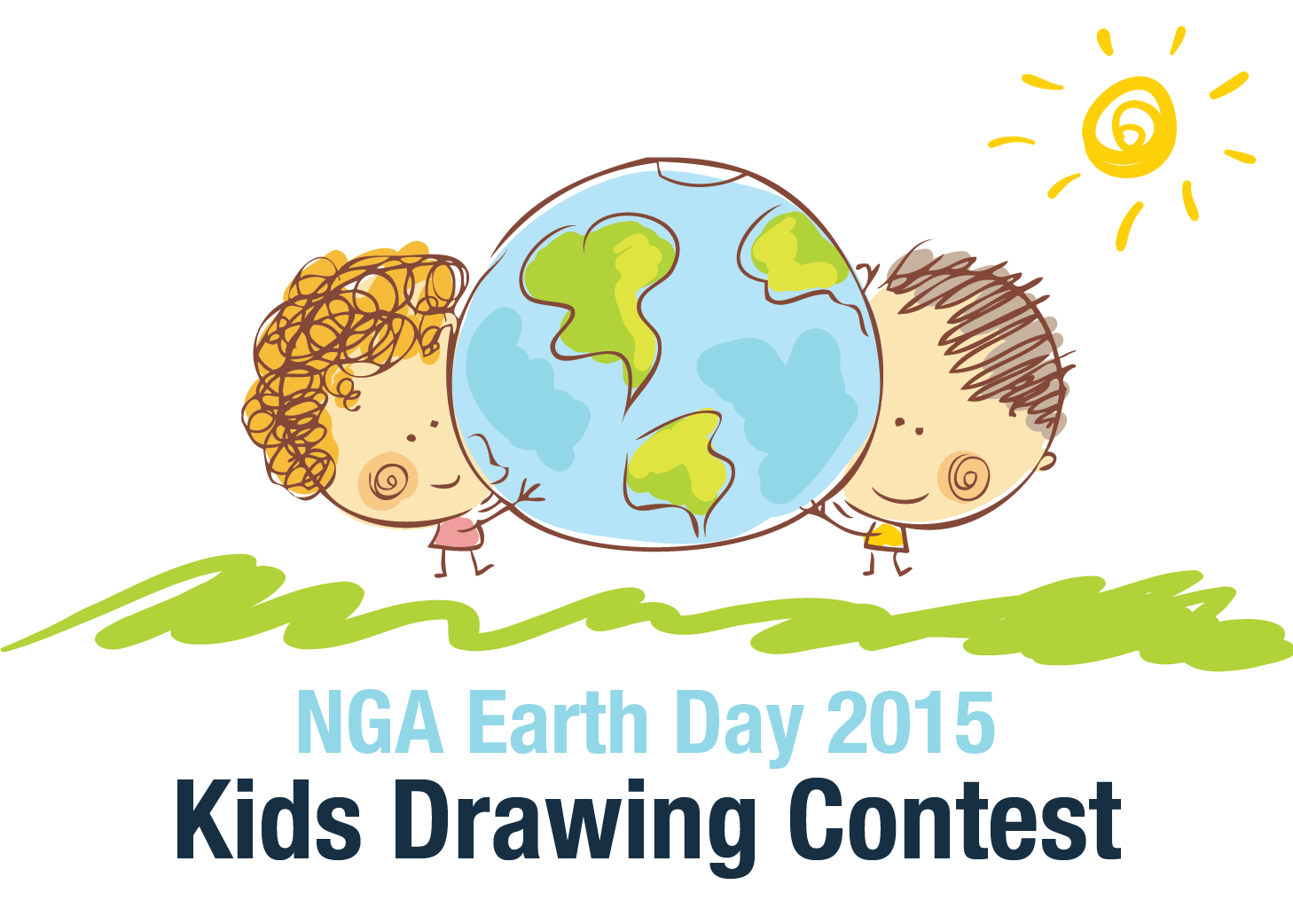 Earth Day Drawing For Kids