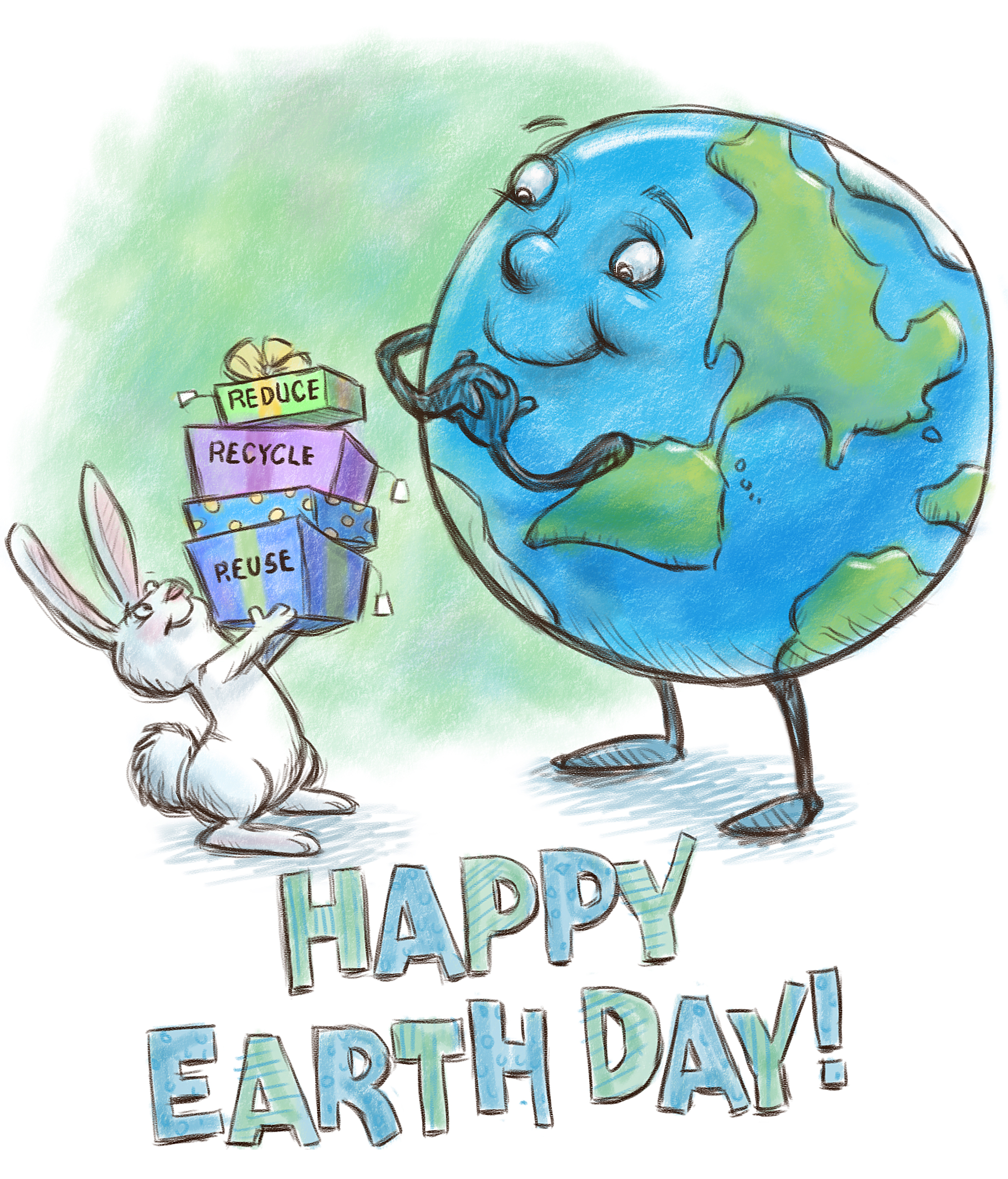 Earth Day Drawing Gifts Sketched