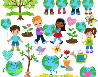 Earth Day Images Clip Art Decorative