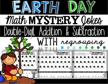 Earth Day Jokes Math Mystery