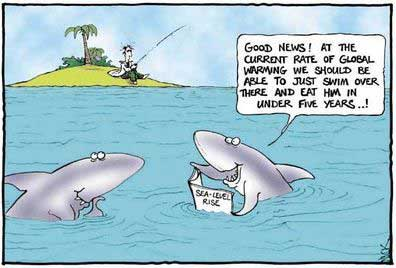 Earth Day Jokes With Cartoon Shark