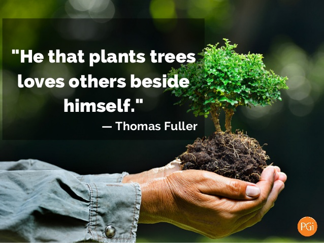 Earth Day Messages Quotes With Plant