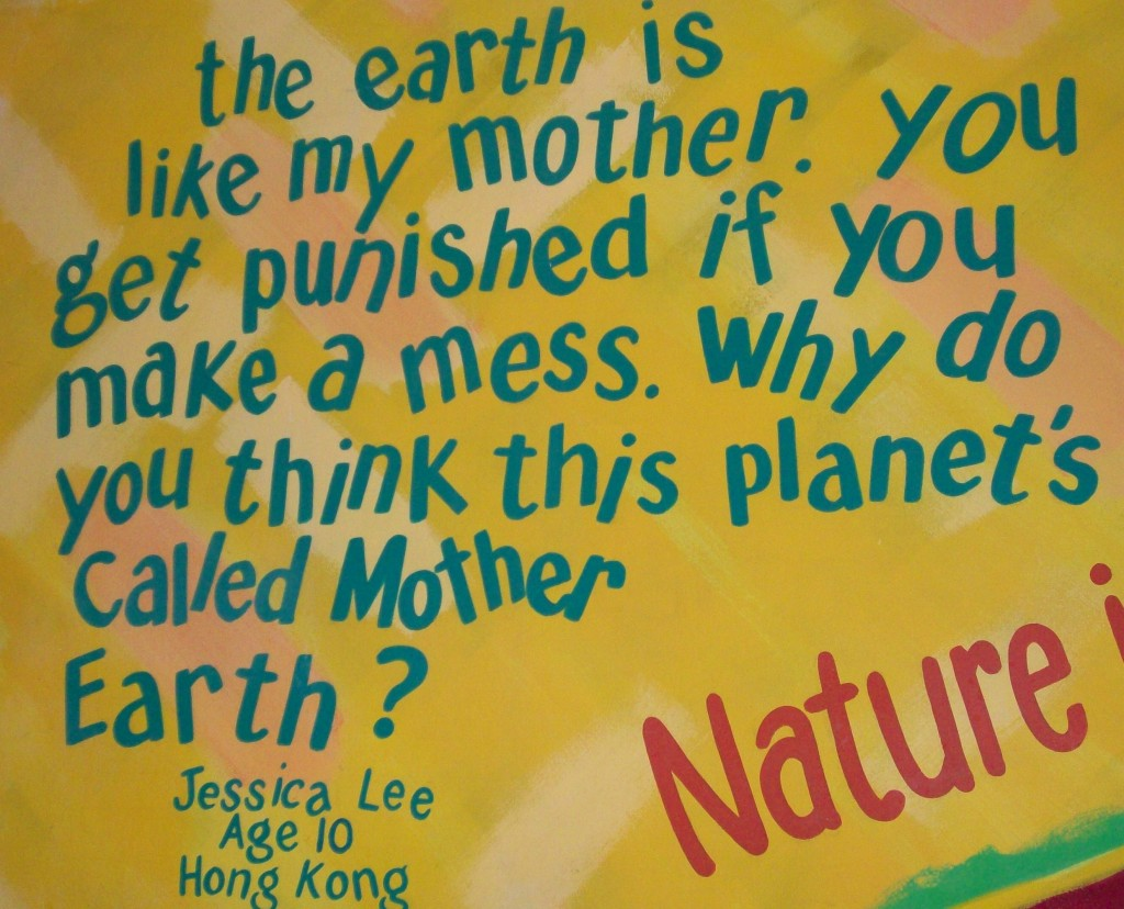 Earth Day Messages Wordless