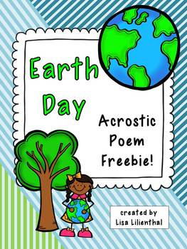 Earth Day Poem Acrostic