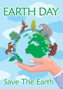 Earth Day Poster Banner