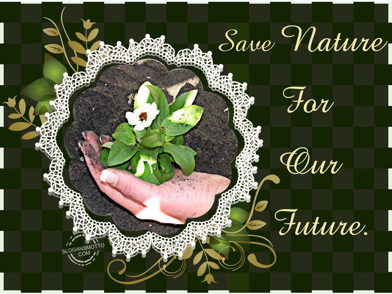 Earth Day Slogans Save Nature