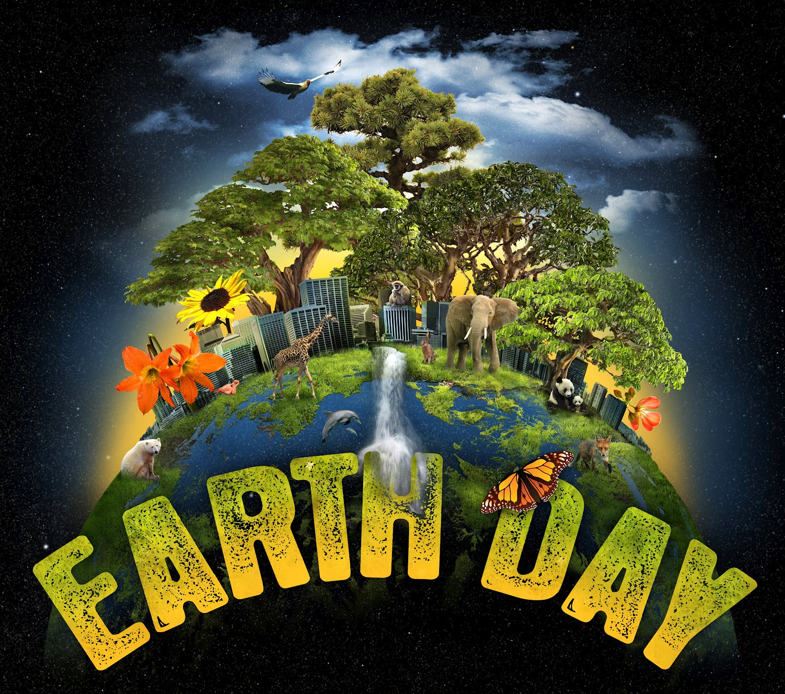 Funny Earth Day Poster