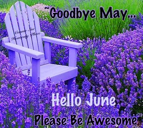 Goodbye May Hello June, Please Be Awesome