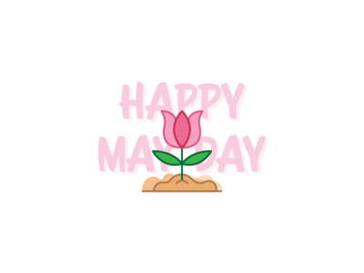 Happy May Day Clipart