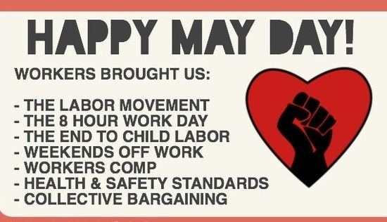 Happy May Day Images 2018