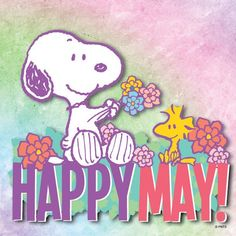 Happy May Day Snoopy Images