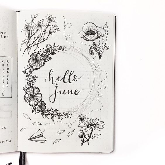 Hello June Images Drawing