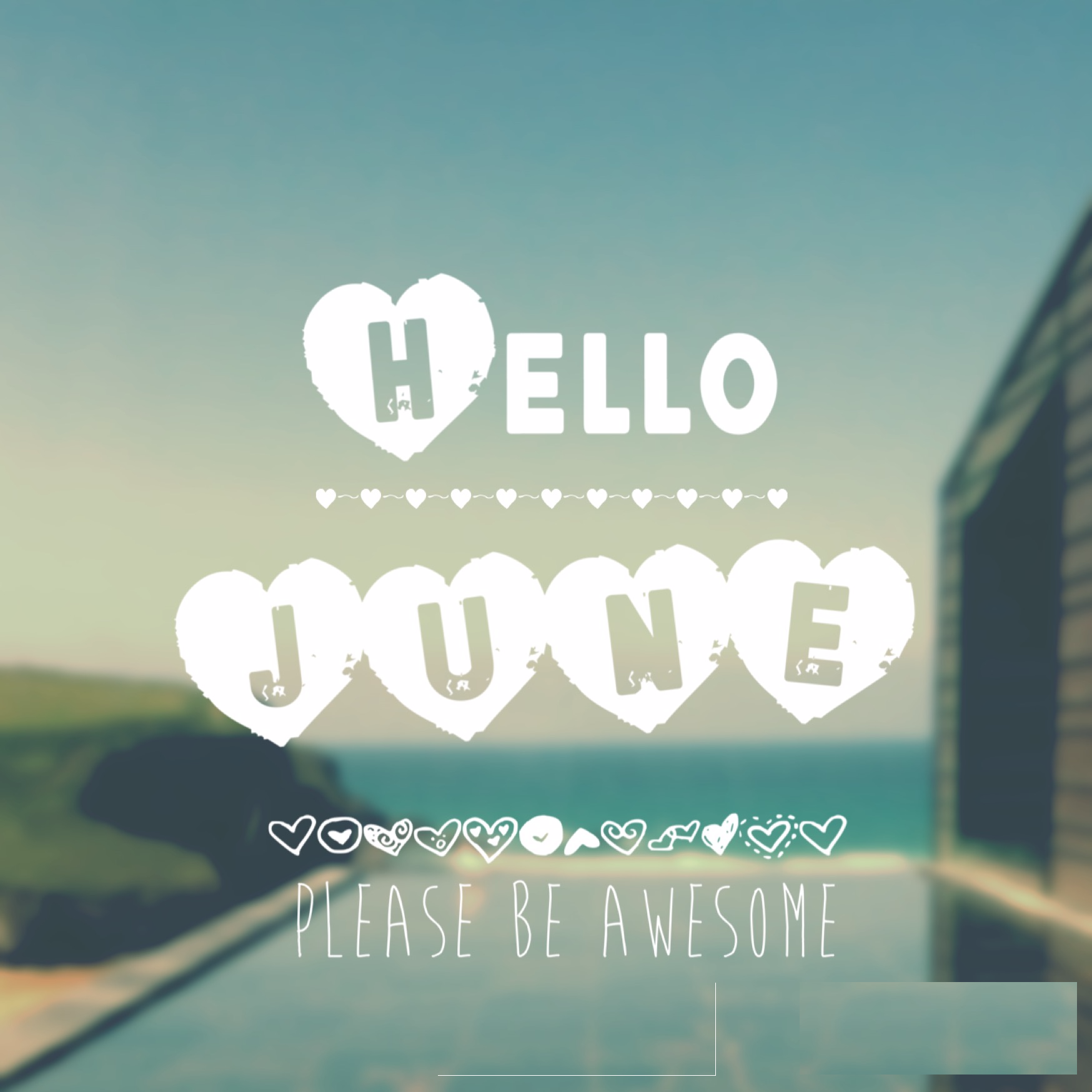 Hello June Images Quotes