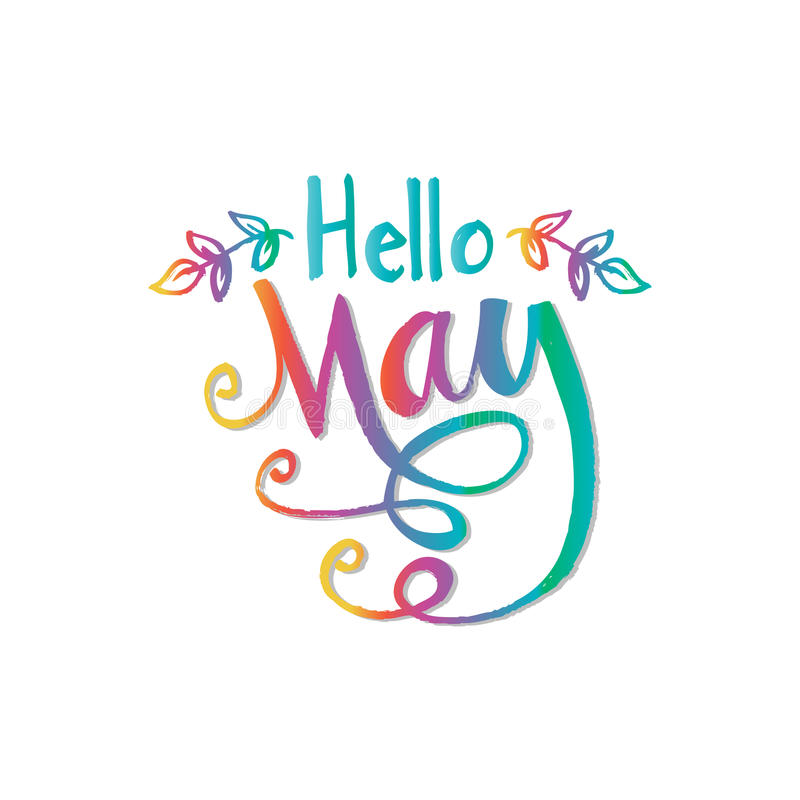 Hello May Clipart Images