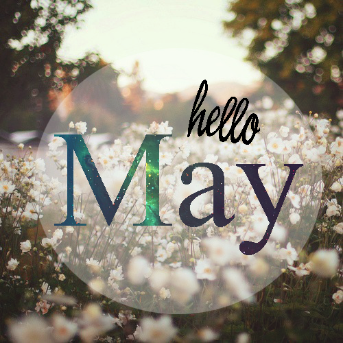 Hello May Images