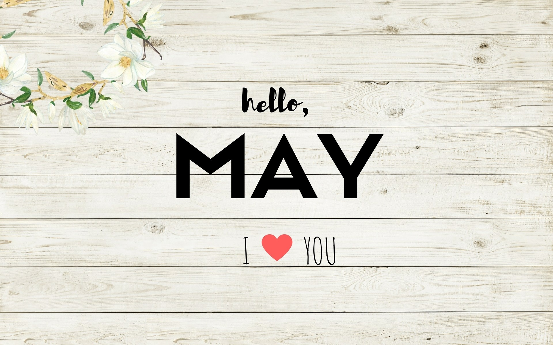 Hello May, Love Images