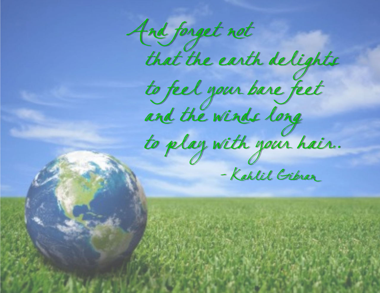 Inspirational Quotes On Save Earth