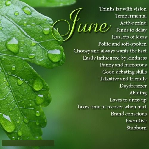 June Birth Sign Quotes