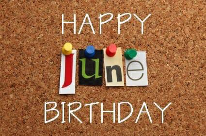 June Birthday Images Greeting
