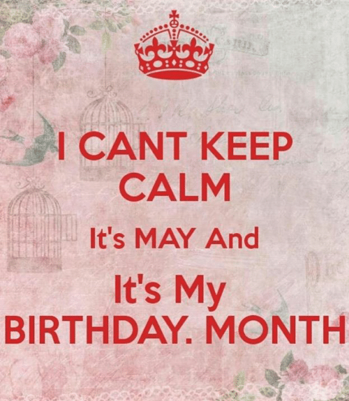 May Birthday Tumblr