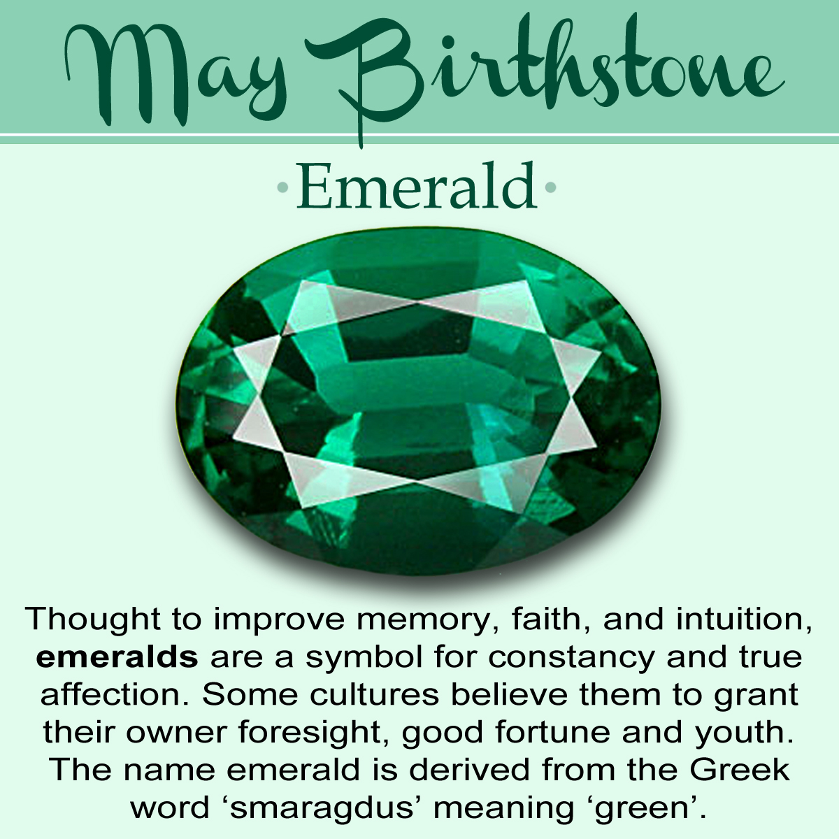 May Birthstone Meaning