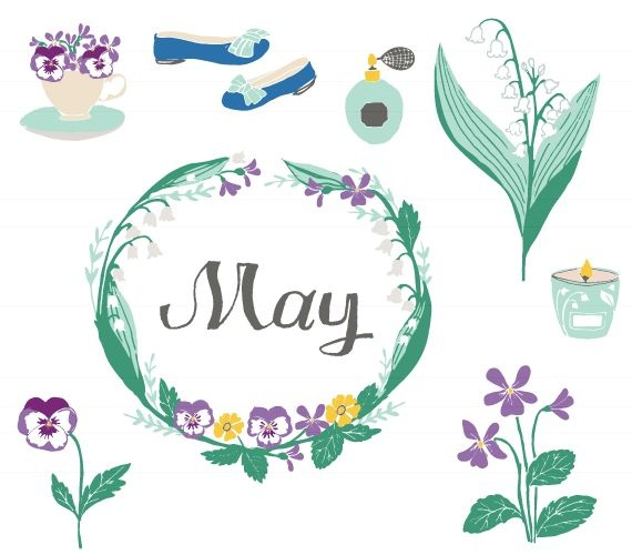 May Clipart Free Pictures