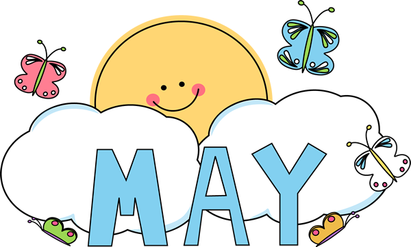May Clipart Images