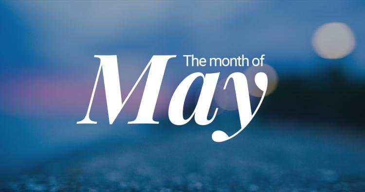 Month of May Pictures