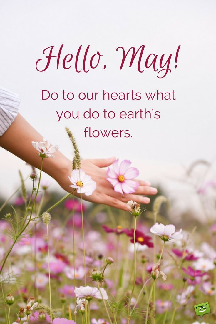 Quotes For May, Hello May