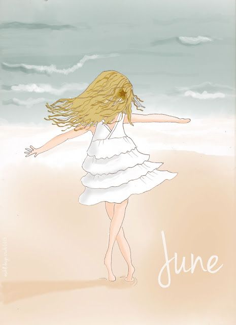 Welcome June Images Cute Girl Enjoy
