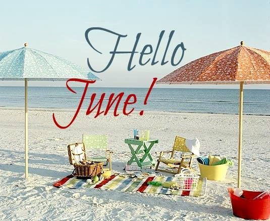 Welcome June Images Relaxing Beach