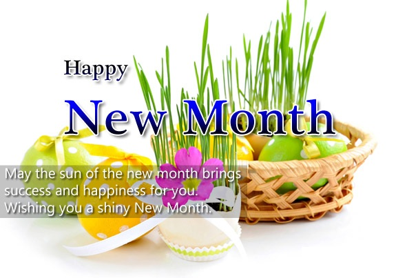 Welcome May, Happy New Month